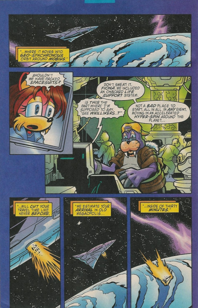 Read online Sonic The Hedgehog comic -  Issue #131 - 7