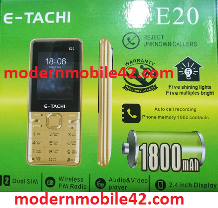 e-tachi e20 flash file Free Downloads