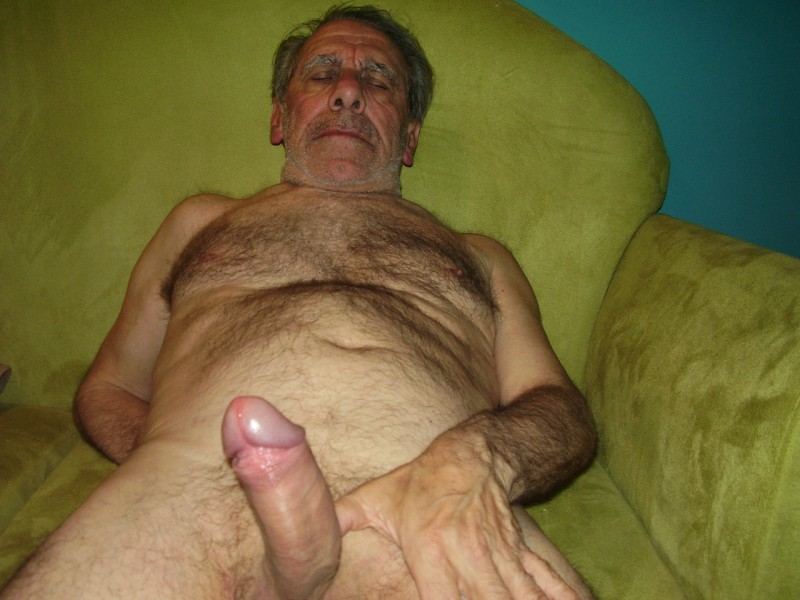 Old Hairy Penis 40