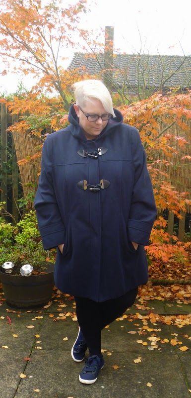 Winter Coat Duffle Coat George Asda Size 24 BBW
