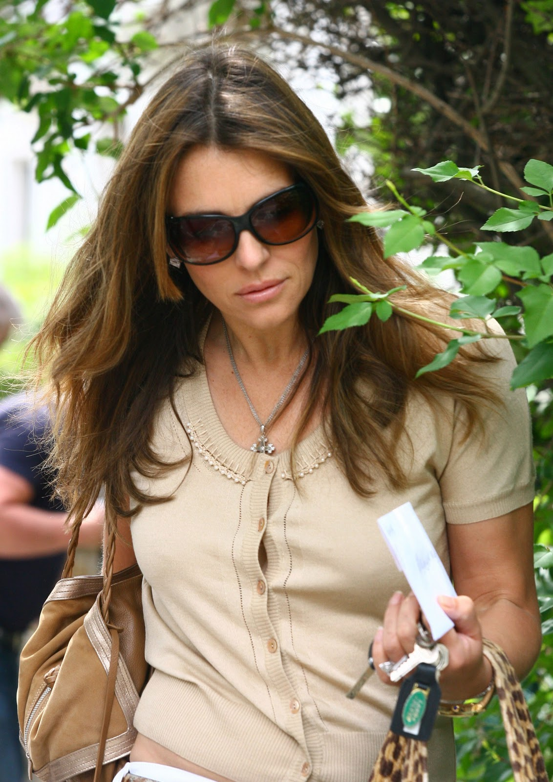 A New Life Hartz Elizabeth Hurley Hairstyle