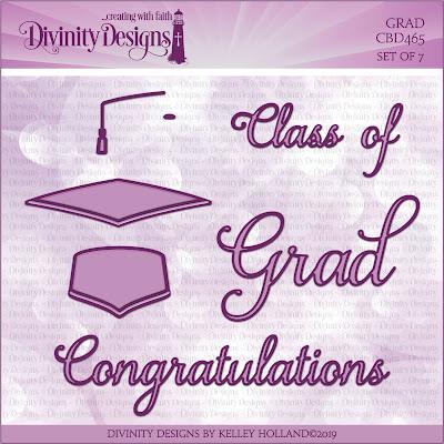 Divinity Designs Custom Dies: Grad