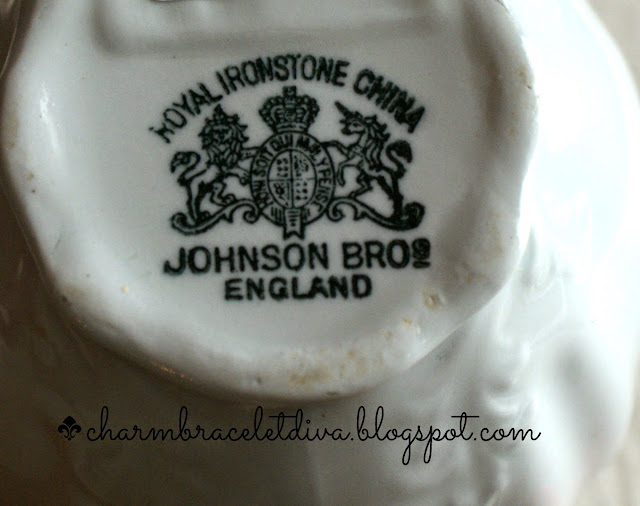 Royal Ironstone China Johnson Bros. England stamp
