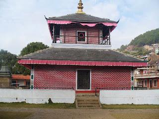 Temple of Palpa Bhagwati Sthan
