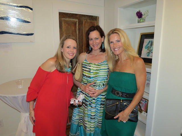 jennifer latimer art show gallery opening