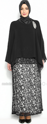 Model Baju Muslim Remaja Wanita Gemuk Terbaru