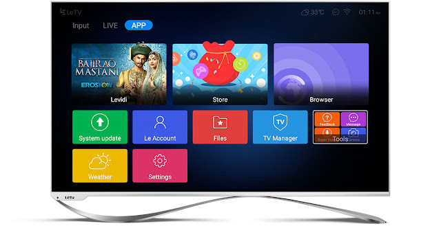 LeEco's Super3 EcoTVs grab the No.1 Spot in TV Industry on its 1st pre-sale itself.