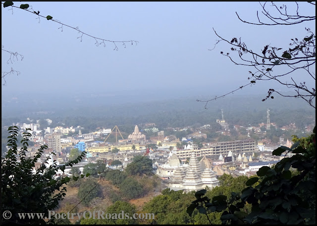 Winter Hike to the holy Parasnath Hill