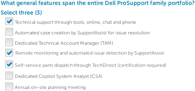 Dell All Exam & Other Technologies: Enterprise Support