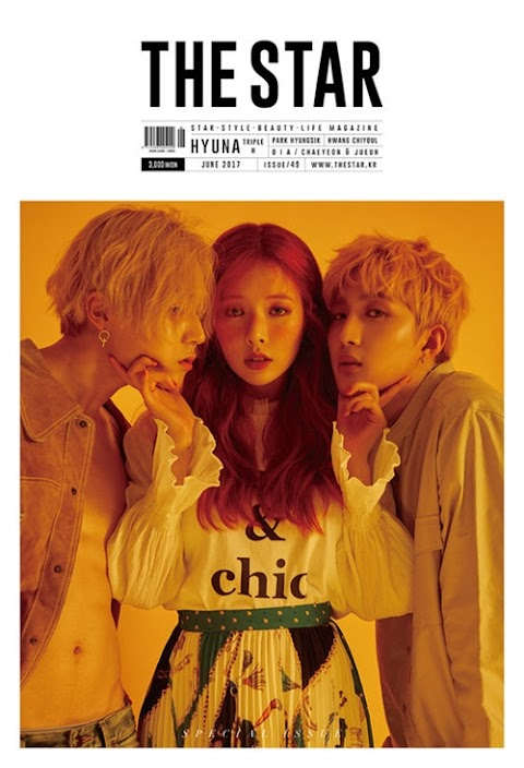 ✰PHOTO✰ Triple H dla magazynu The Star