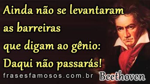 Frase de Ludwig van Beethoven