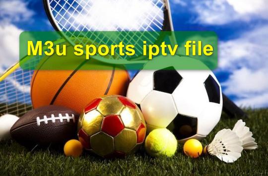 M3u sports iptv file