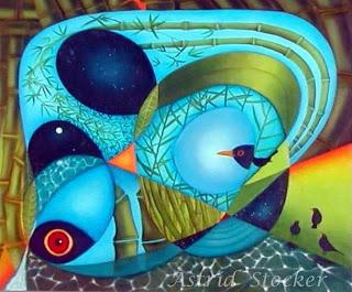 Mirlos y Bamboo - Astrid Stocker Flores