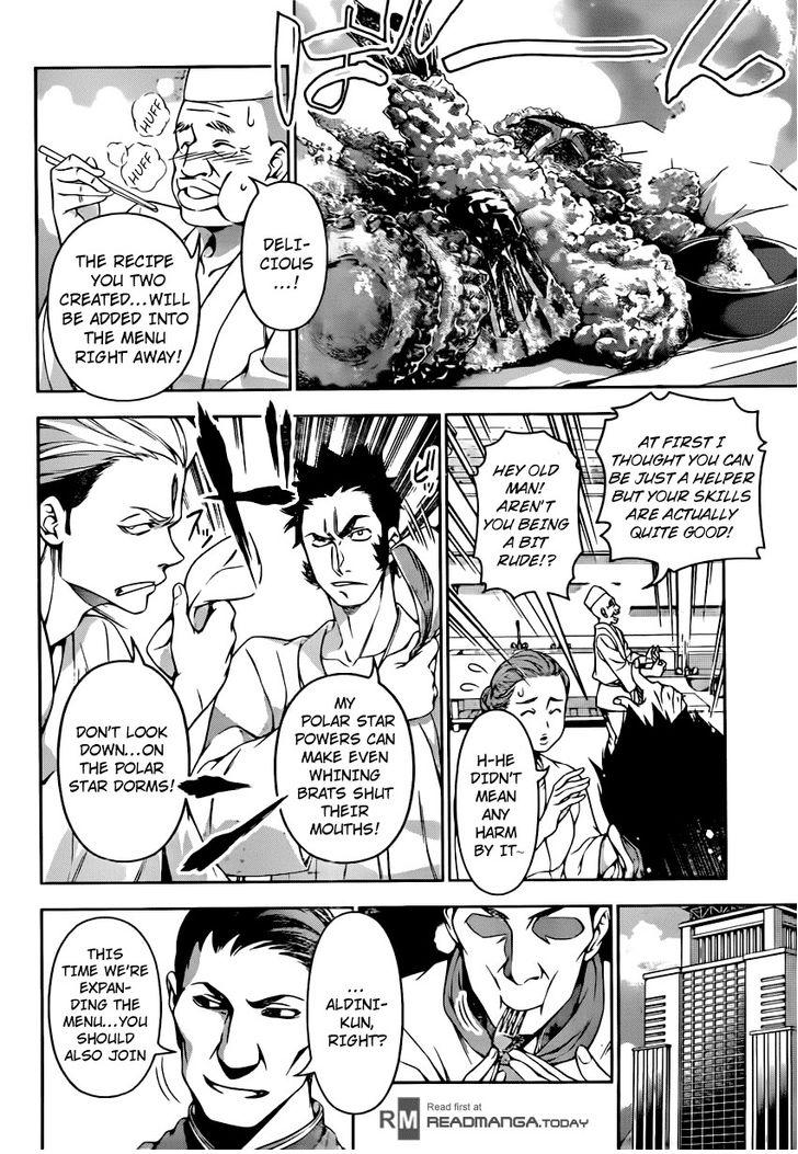 Shokugeki no Soma - Chapter 132