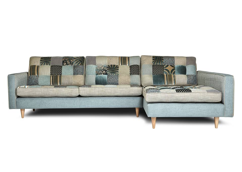 natural modern interiors recycled patchwork fabric sofas. Black Bedroom Furniture Sets. Home Design Ideas