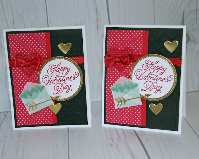 Just 5 weeks to make your Valentine cards