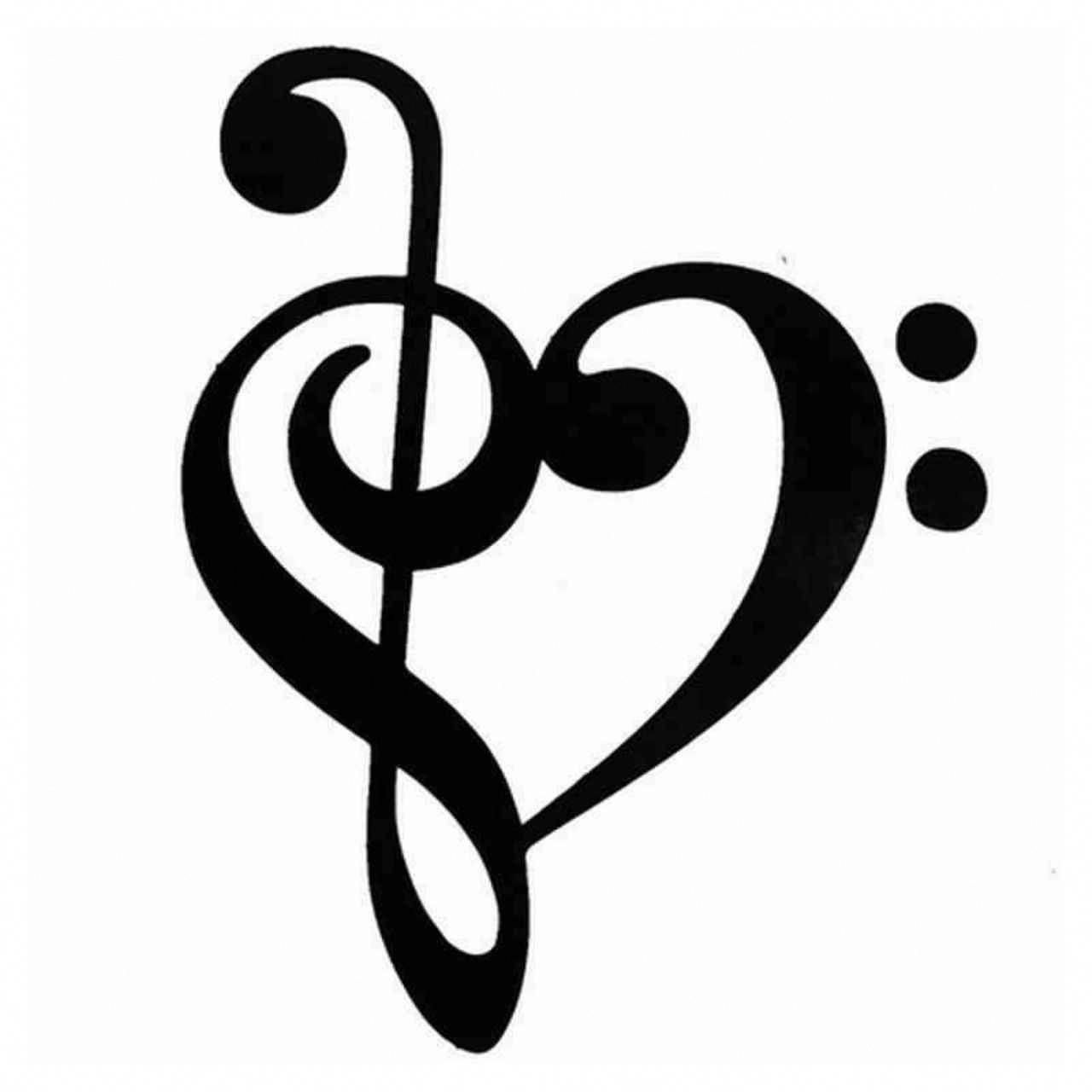 150+ Meaningful Treble Clef Tattoo Designs For Music