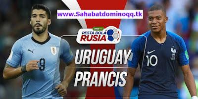 Prediksi Pertandingan Bola Uruguay vs Prancis di Perempat Final Piala Dunia
