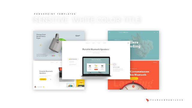 Our References of Premium PowerPoint Template with Whit Title