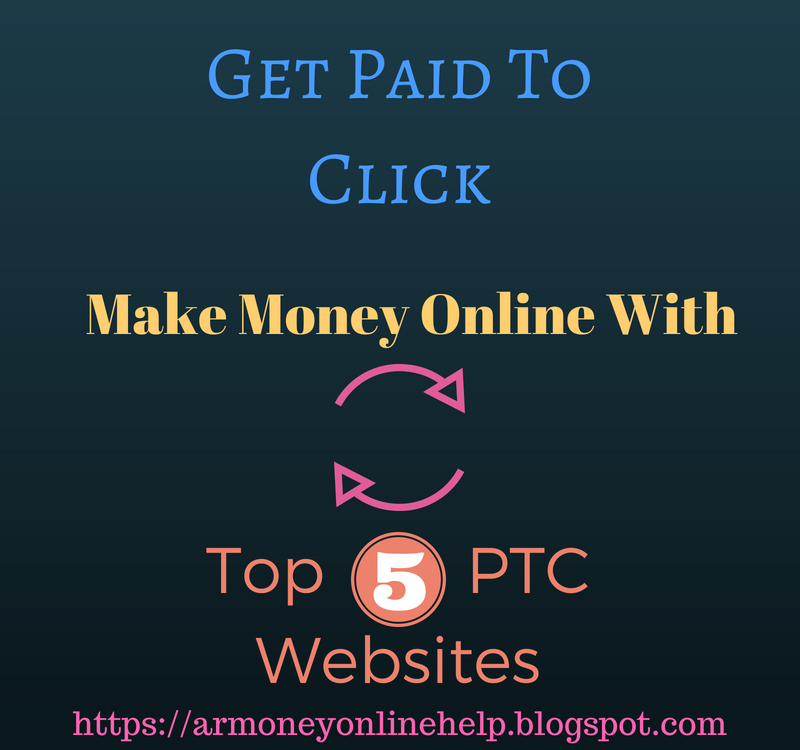 Make Money Online At Home: How To Make Money Online With PTC Websites?