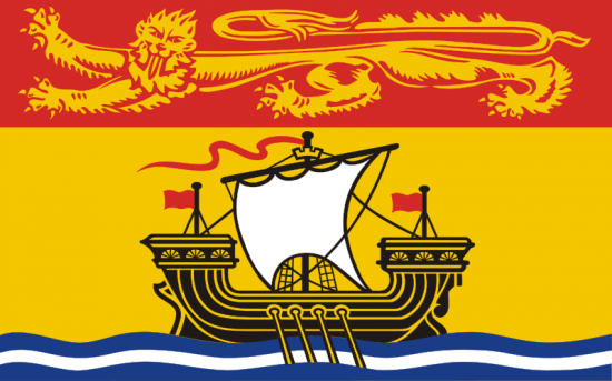 Climbing My Family Tree: Flag of New Brunswick
