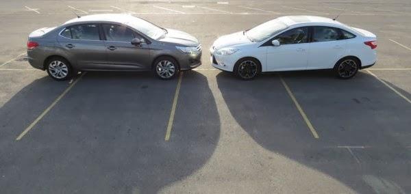 Ford focus vs citroen c4