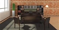 Cherryman AM-406N Amber Desk