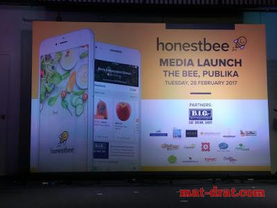Pelacaran Honestbee Malaysia