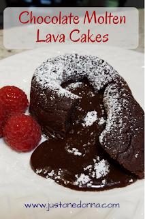 Decadent Chocolate Molten Lava Cakes