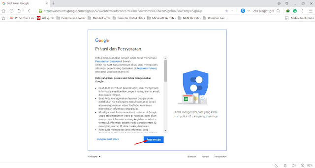 Cara Membuat atau Mendaftar Akun Gmail
