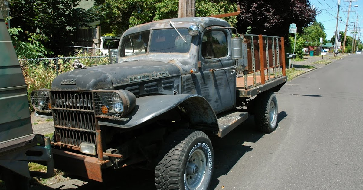Old Parked Cars 1954 Dodge Power Wagon Pickup