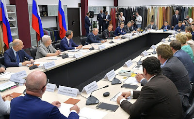 Vladimir Putin held a meeting on developing light industry.