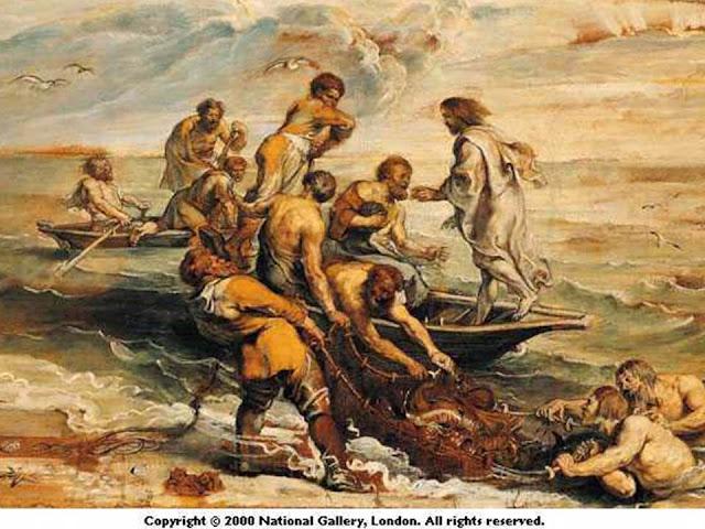 Isus i čudesni ribolov