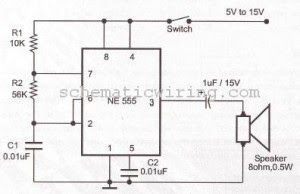electronic circuit diagram electro schematic ring bell. Black Bedroom Furniture Sets. Home Design Ideas