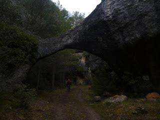 Barranco de la Fuente Nueva. Arco de piedra