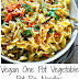 Vegan One Pot Vegetable Pot Pie Noodles