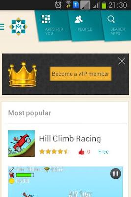 تطبيق رائع لمشاركة تطبيقات اصدقائك فى الاندرويد App mahal
