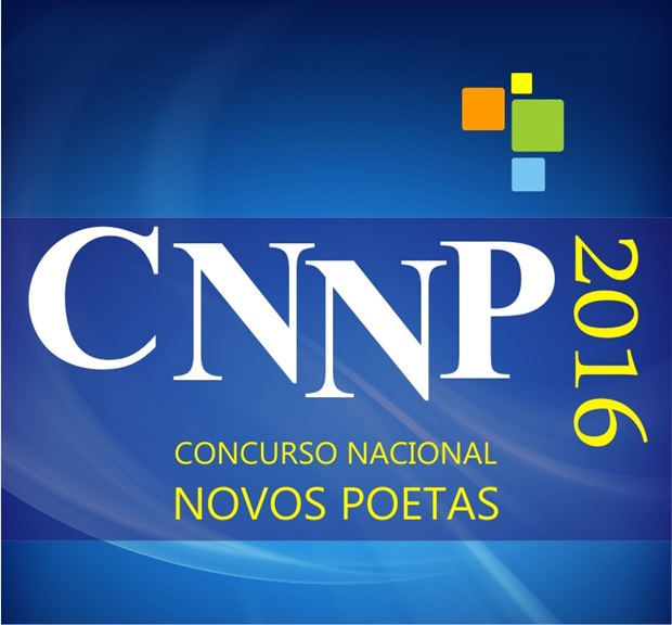 Concurso Nacional Novos Poetas. Prêmio CNNP 2016