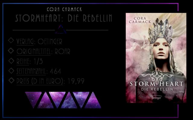 [Rezension] Stormheart: Die Rebellin - Cora Carmack