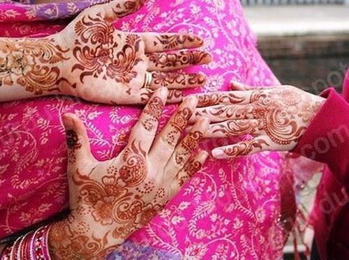 Pakistani Mehndi Style And Desing In Pakistani Girls