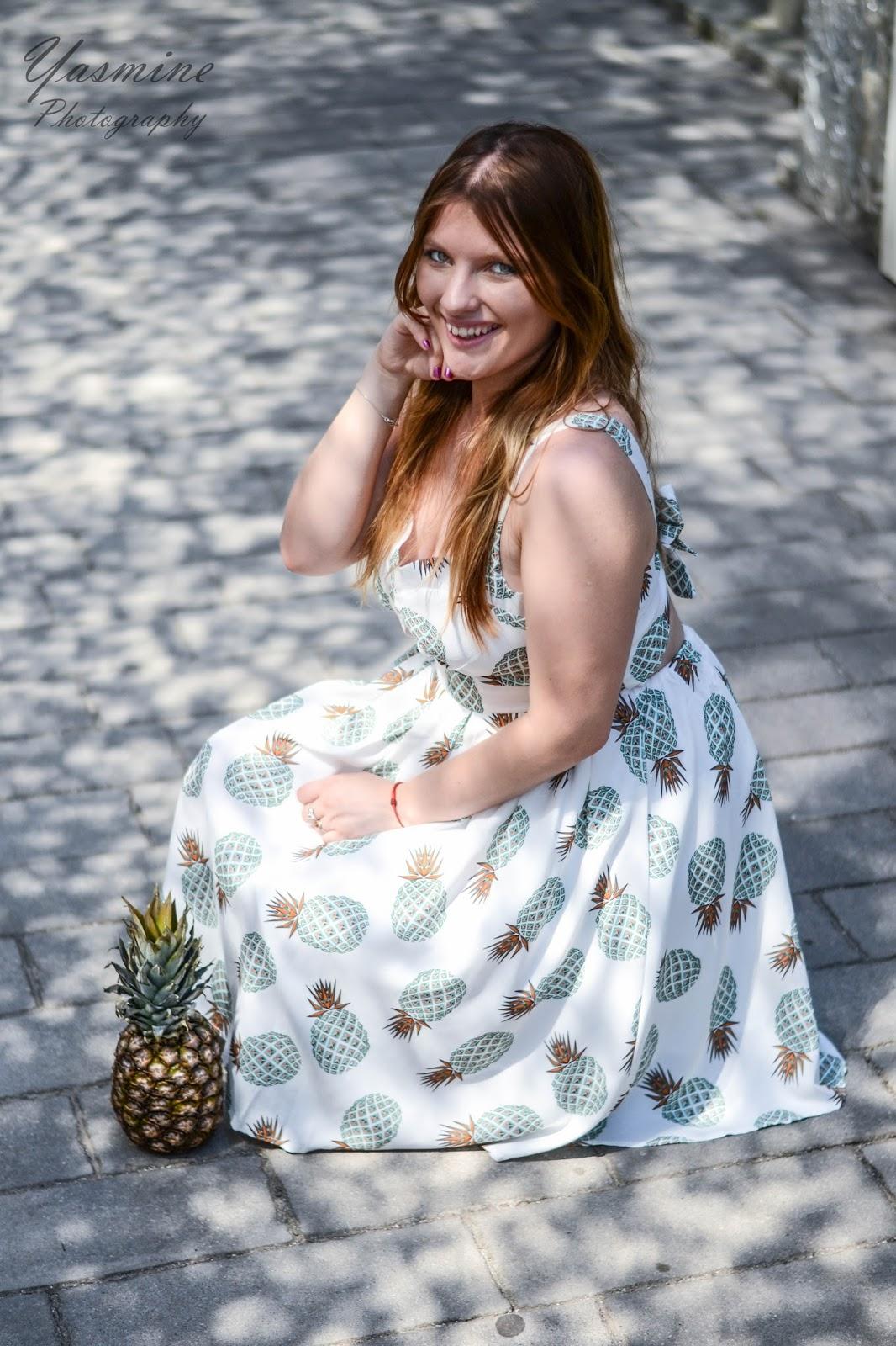 czy warto kupowac na stronach chińskich sklepów zaful sammydress dresslink sukienka w ananasy chińskie sklepy internetowe jakość pineapple dress fashion style melodylaniella yasmine photography q