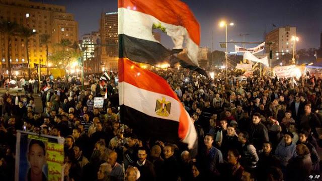 Bentrok Oposisi dan Pemerintah Mesir
