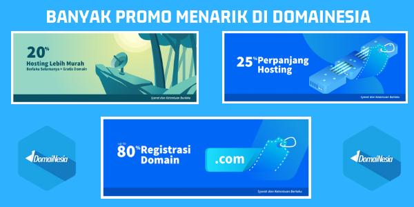 Promo Spesial Untuk Pengguna Domainesia