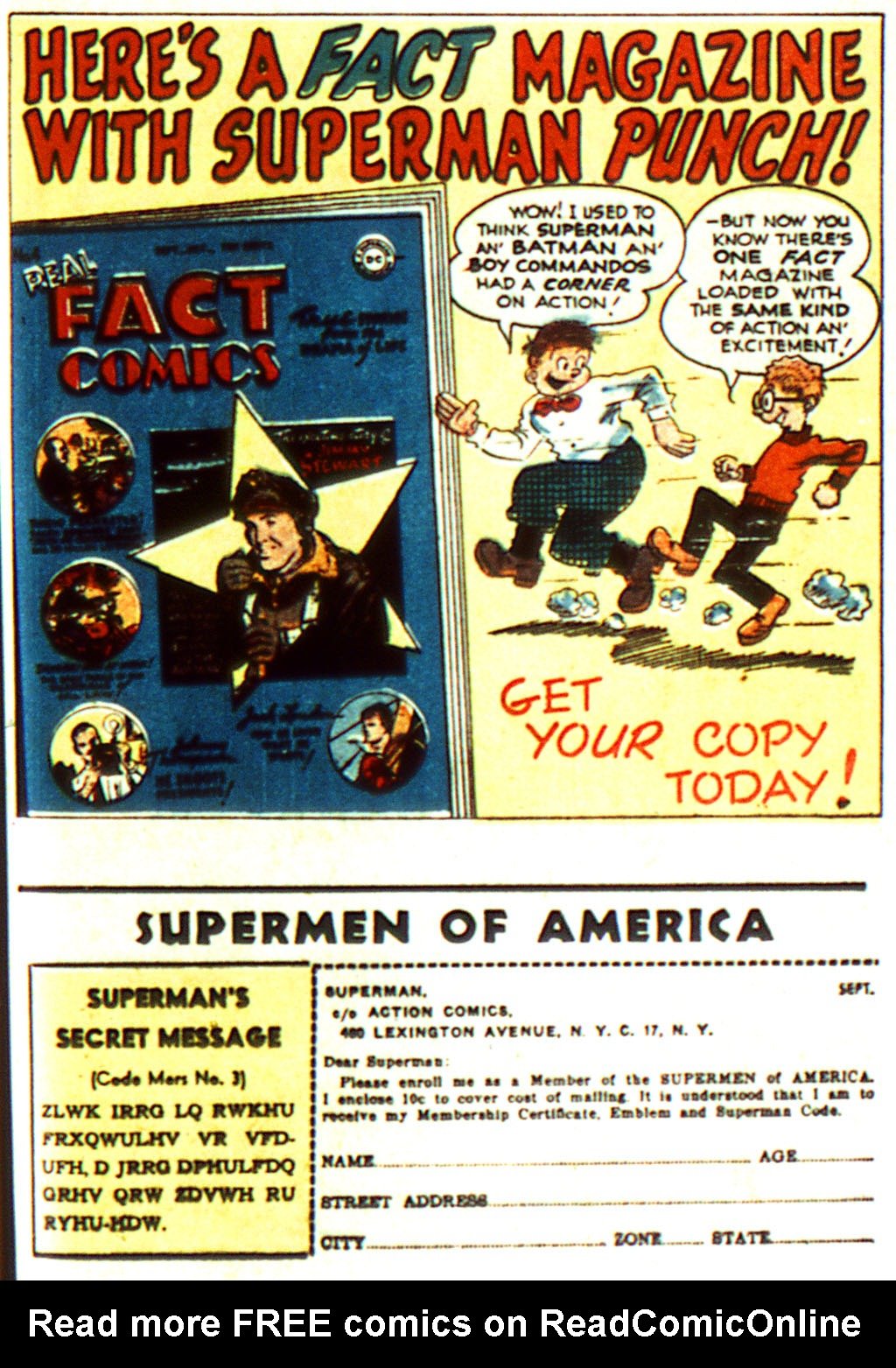 Read online Action Comics (1938) comic -  Issue #100 - 43