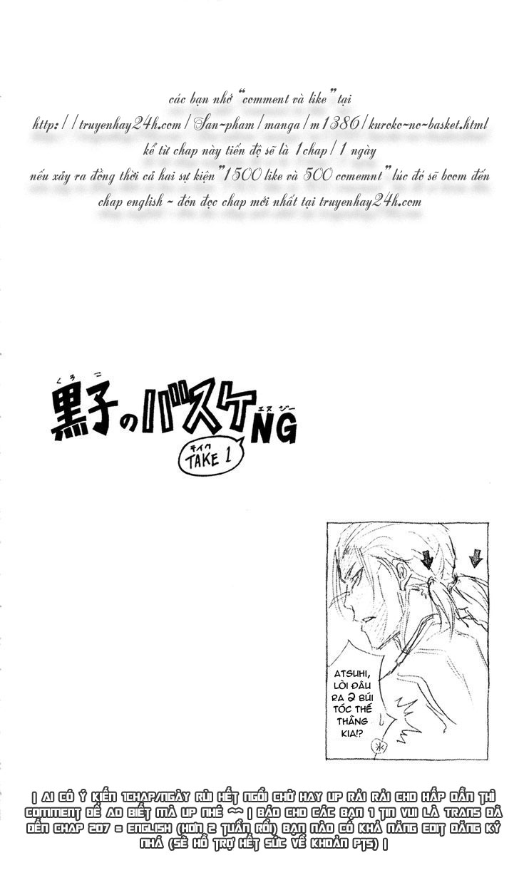 Kuroko No Basket chap 167 trang 20