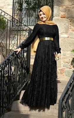 untuk perempuan muslimah menghadirkan bermacam-macam busana bagus dengan banyak sekali keindahan pada s 30+ Model Baju Muslim Brokat Terbaru 2018: Desain Cantik dan Mewah