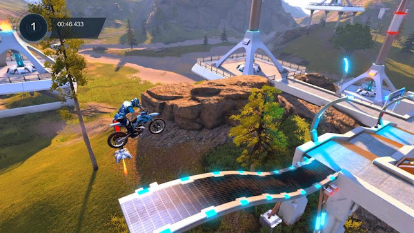 Screen Shot Of Trials Fusion (2013) Full PC Game Free Download At worldfree4u.com