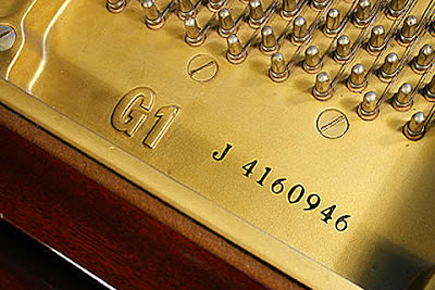 Số Serial của đàn piano