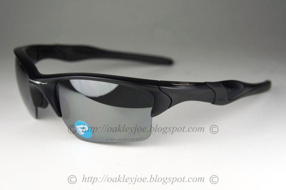 0f91860c331 OO9154-46 Half jacket 2.0 XL matte black + black iridium polarized  250 lens  pre coated with Oakley hydrophobic nano solution