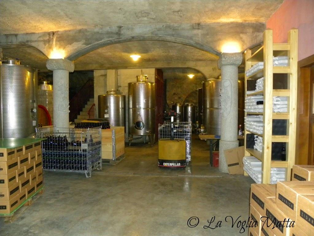 Azienda Beniamino Zidarich a Prepotto Trieste  cantina